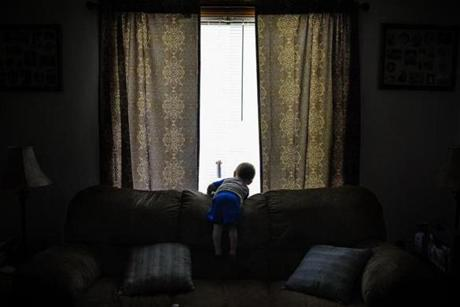 Mailakah, 1, of Middlesboro, Ky., lives with a foster family in Pineville because his parents are jailed for drug abuse.
